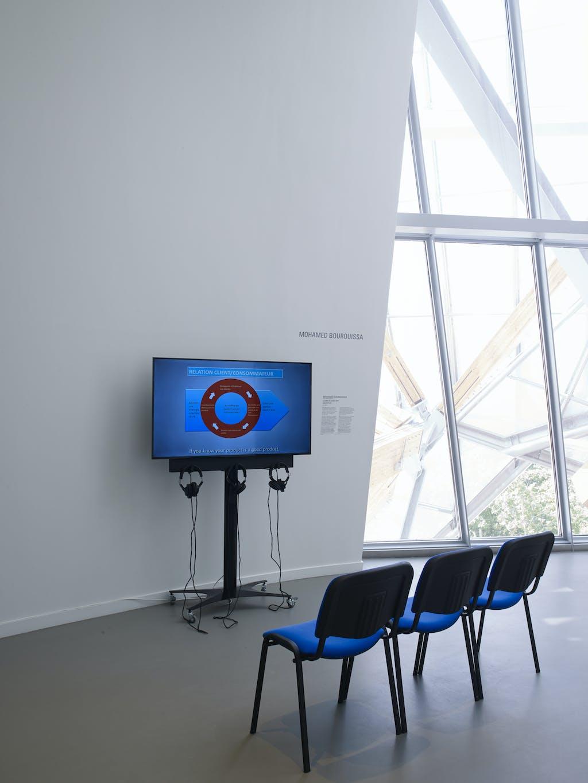 Exhibition view, Fondation Louis Vuitton, Paris - © kamel mennour