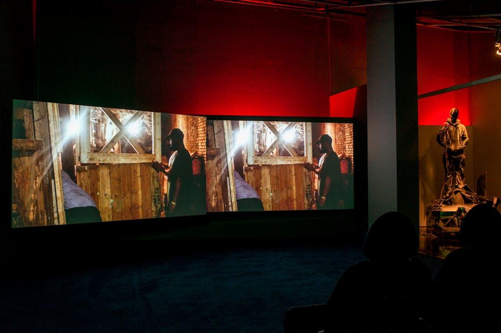 Exhibition view, Liverpool Biennale - © kamel mennour