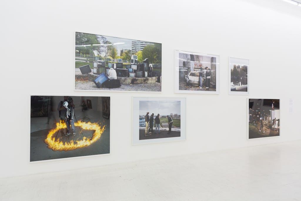 Exhibition view, Milan Triennale - © kamel mennour
