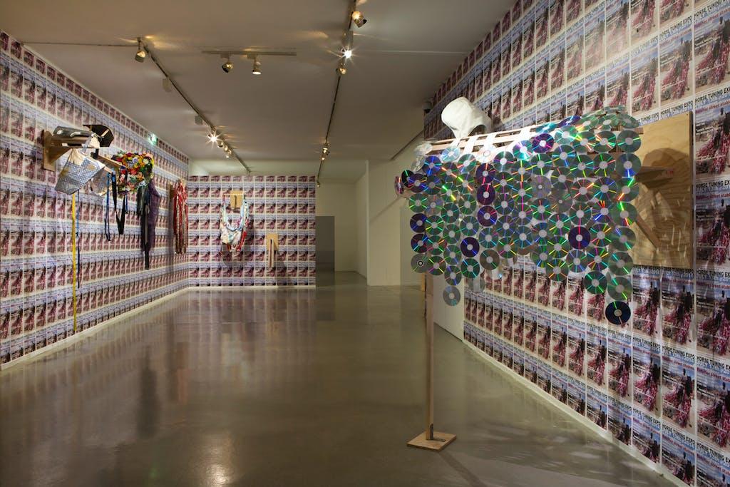 Exhibition view, Musée d'Art Moderne de Paris - © kamel mennour