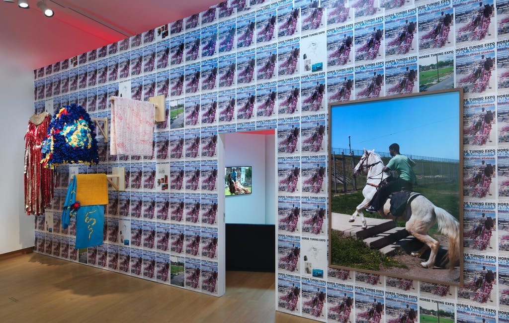 Exhibition view, Stedelijk Museum, Amsterdam - © kamel mennour