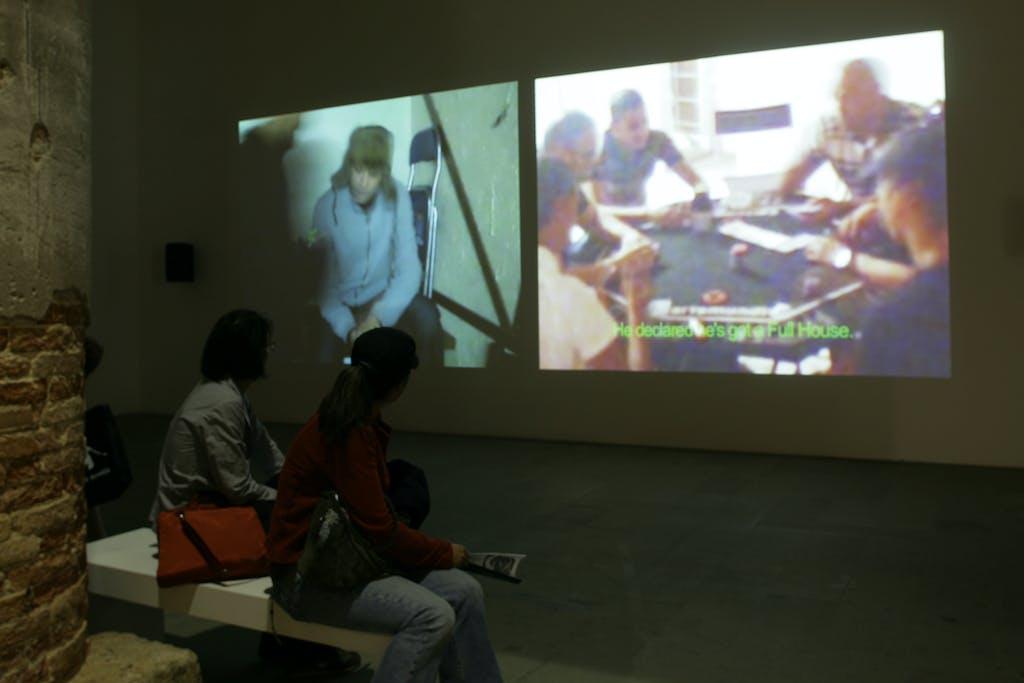 Exhibition view, Venice Biennale - © kamel mennour