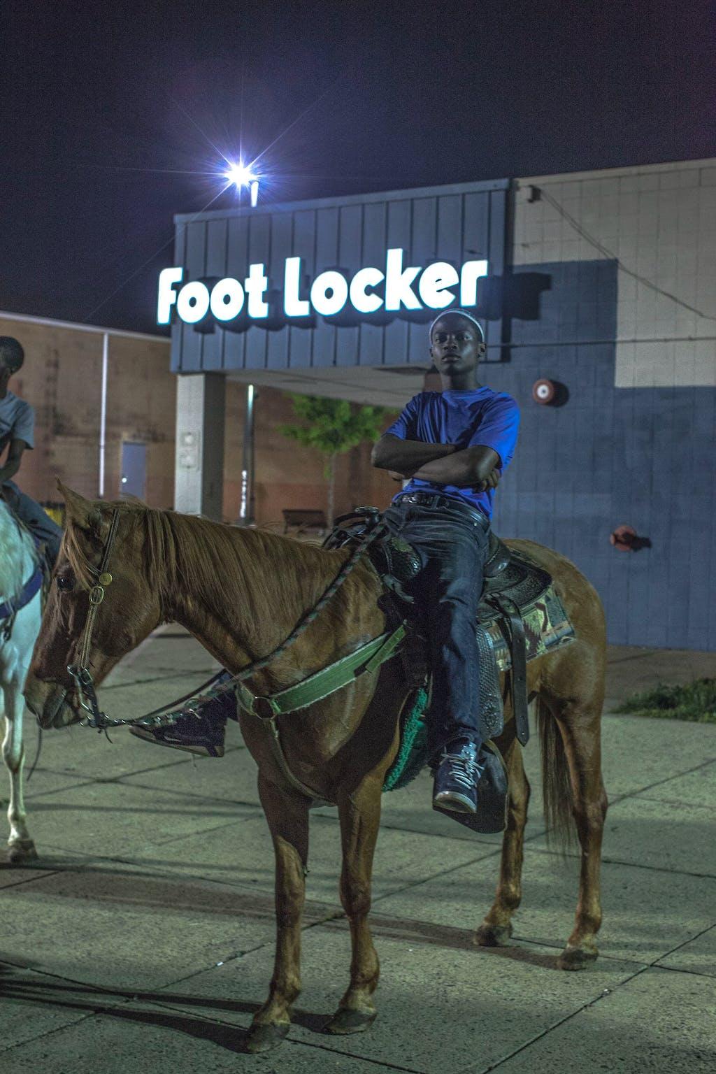Foot Locker - © kamel mennour