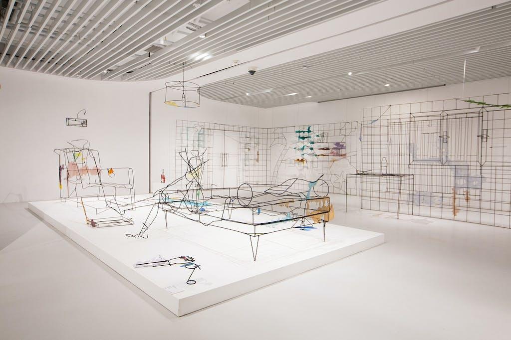 Exhibition view, K11 Art Foundation, Shanghai - © kamel mennour