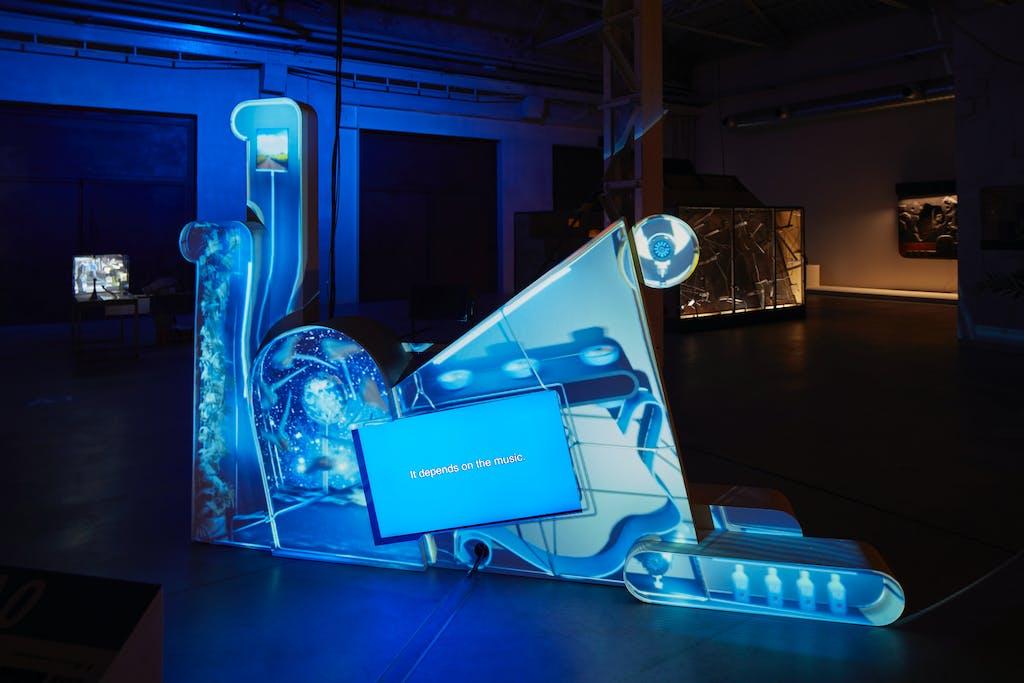 Exhibition view, Pirelli HangarBicocca, Milan - © kamel mennour