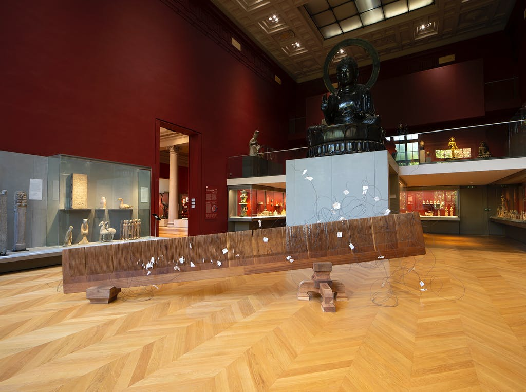 Exhibition view, Musée Cernuschi, Paris - © kamel mennour