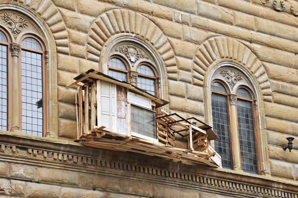 Exhibition view, Palazzo Strozzi, Florence - © kamel mennour