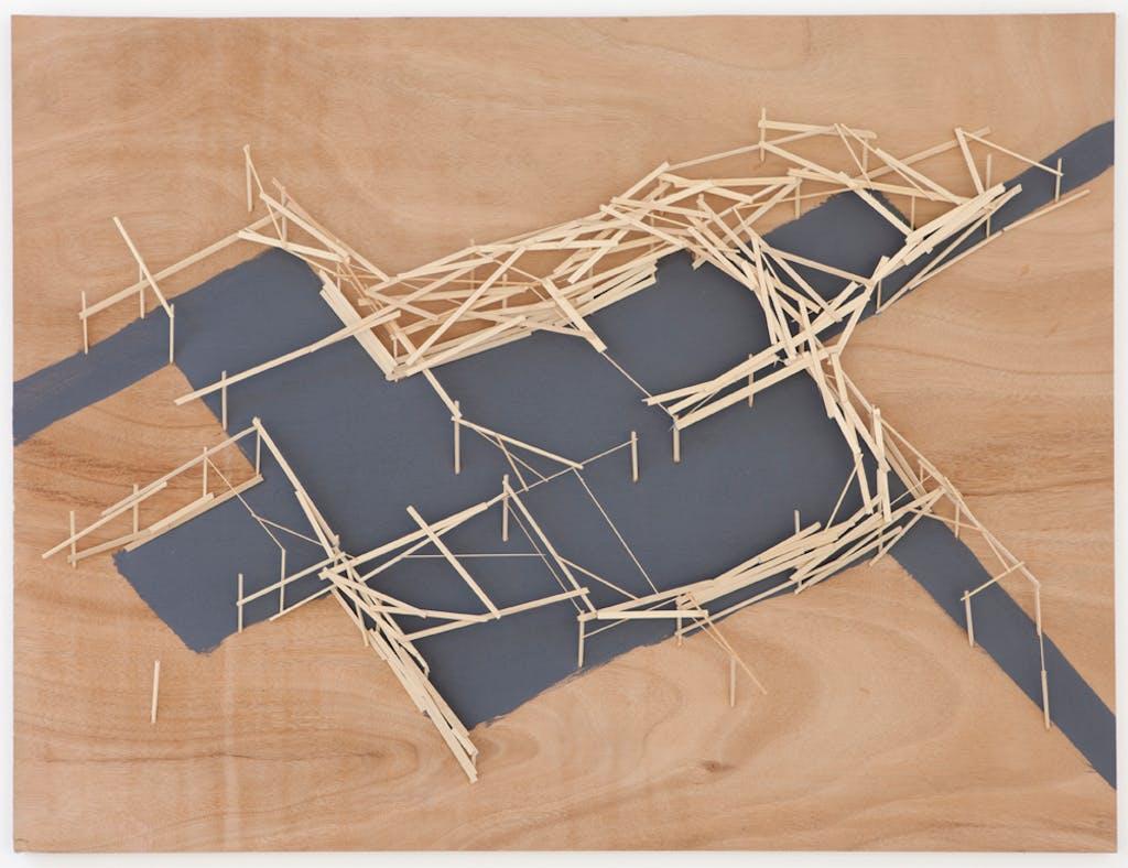 Site Plan N°17 - © kamel mennour