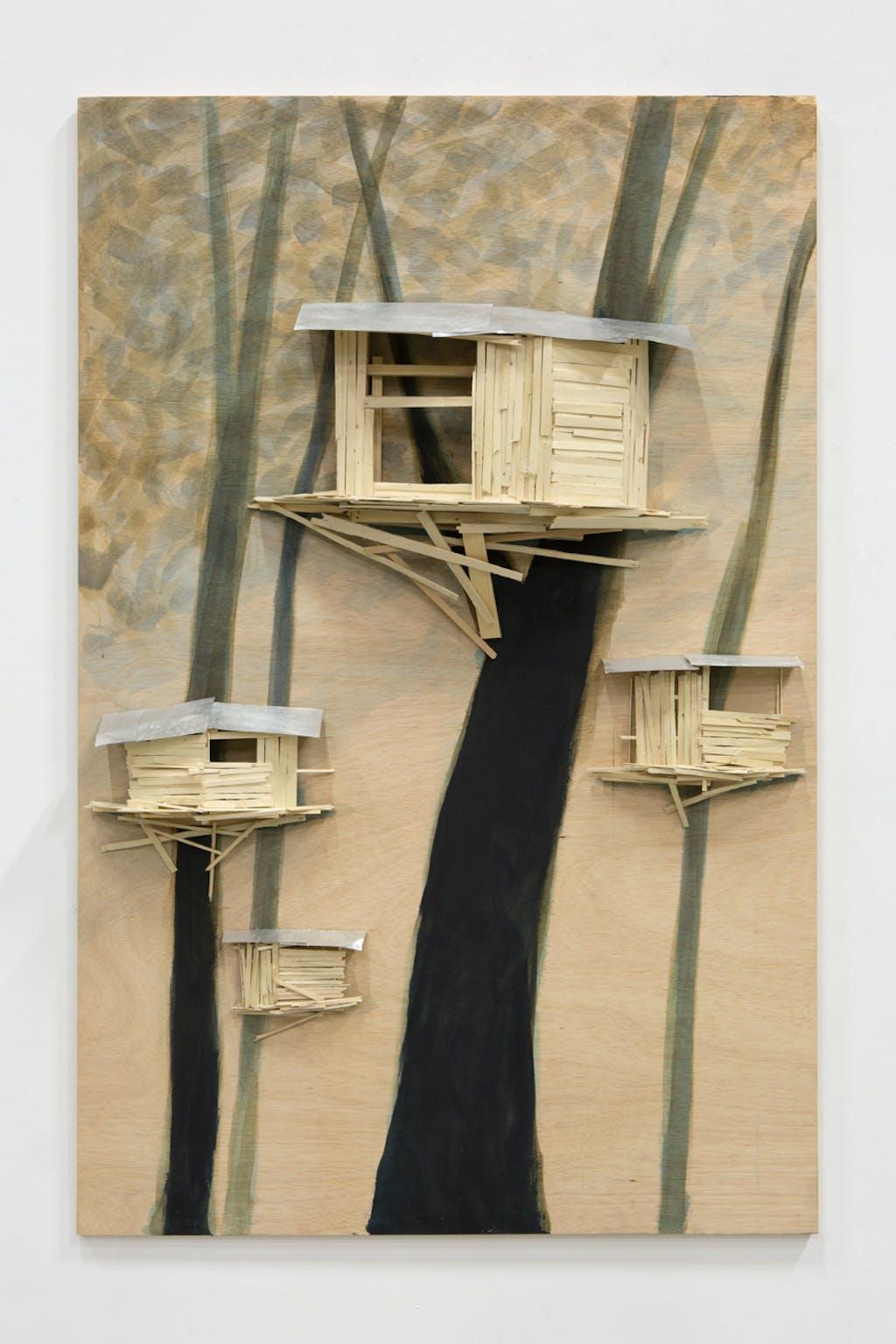 Tree hut Brugge No 26 - © kamel mennour