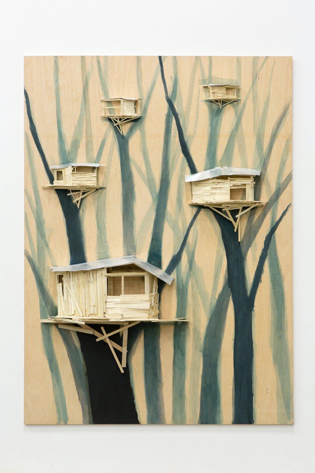 Tree hut group n°2 - © kamel mennour