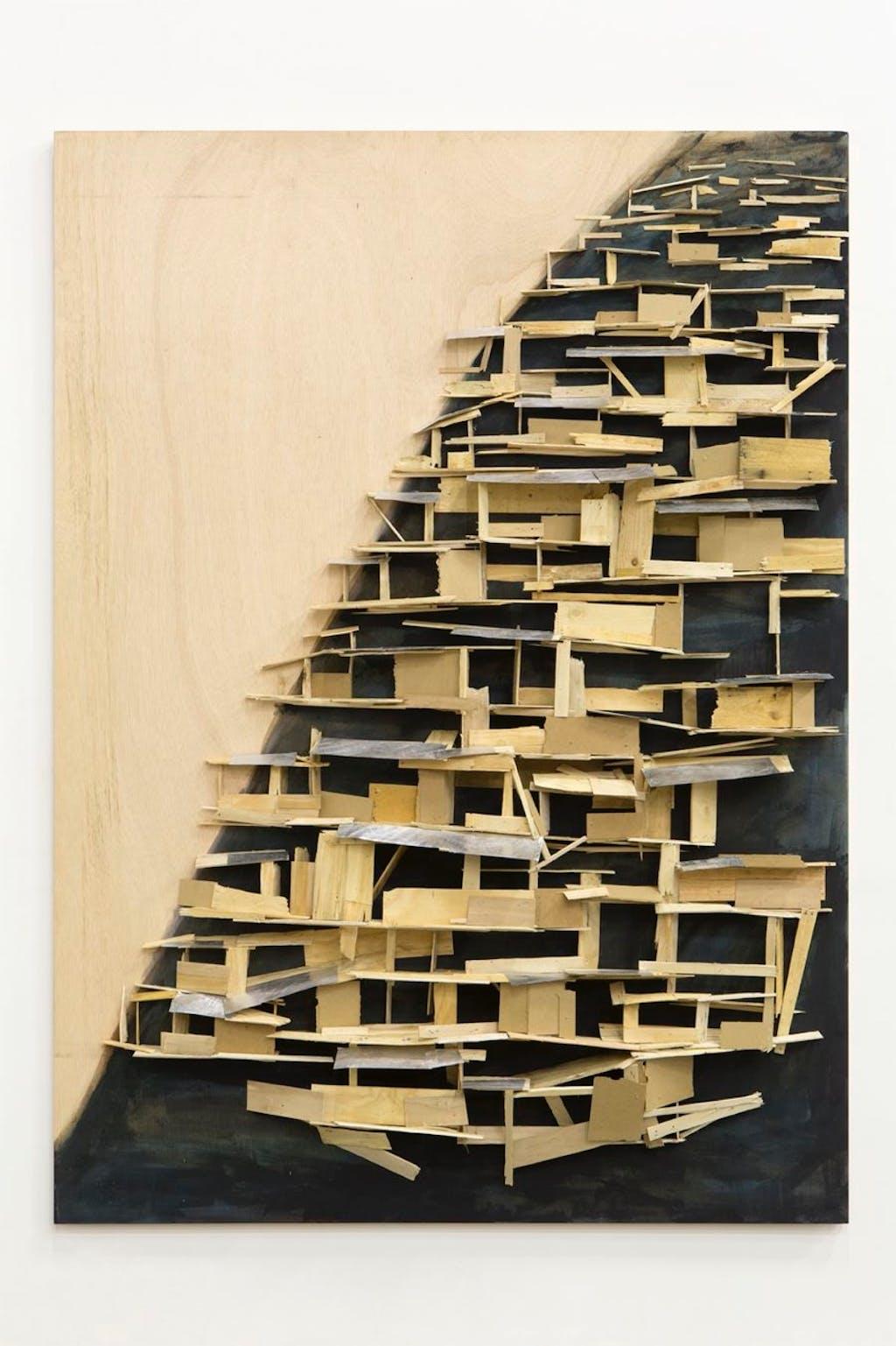 Tree hut on the cliff n 8 - © kamel mennour
