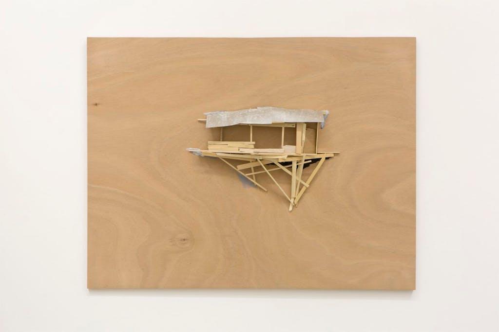 Tree hut plan N° A-23 - © kamel mennour