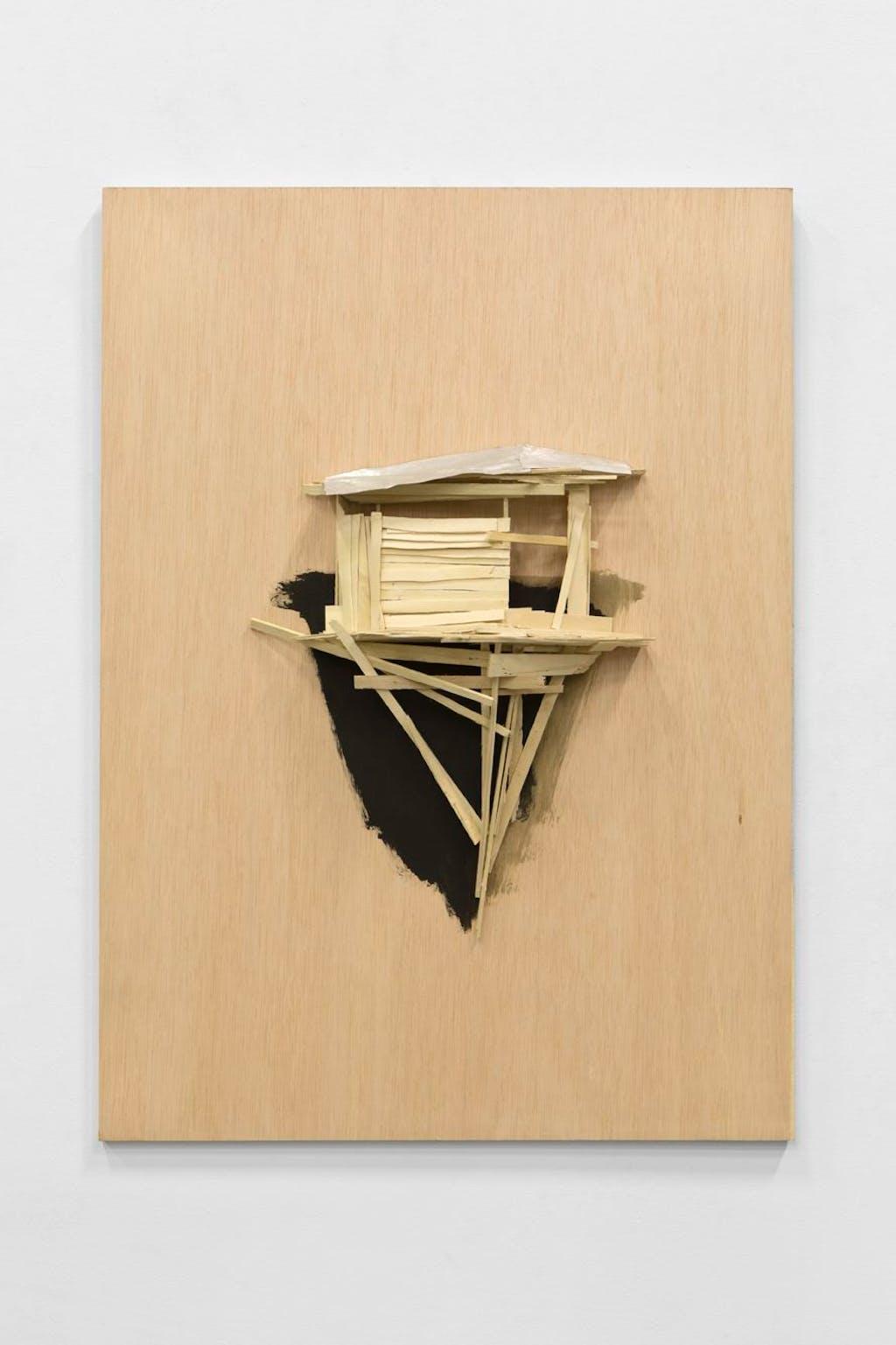 Tree hut plan no35 - © kamel mennour