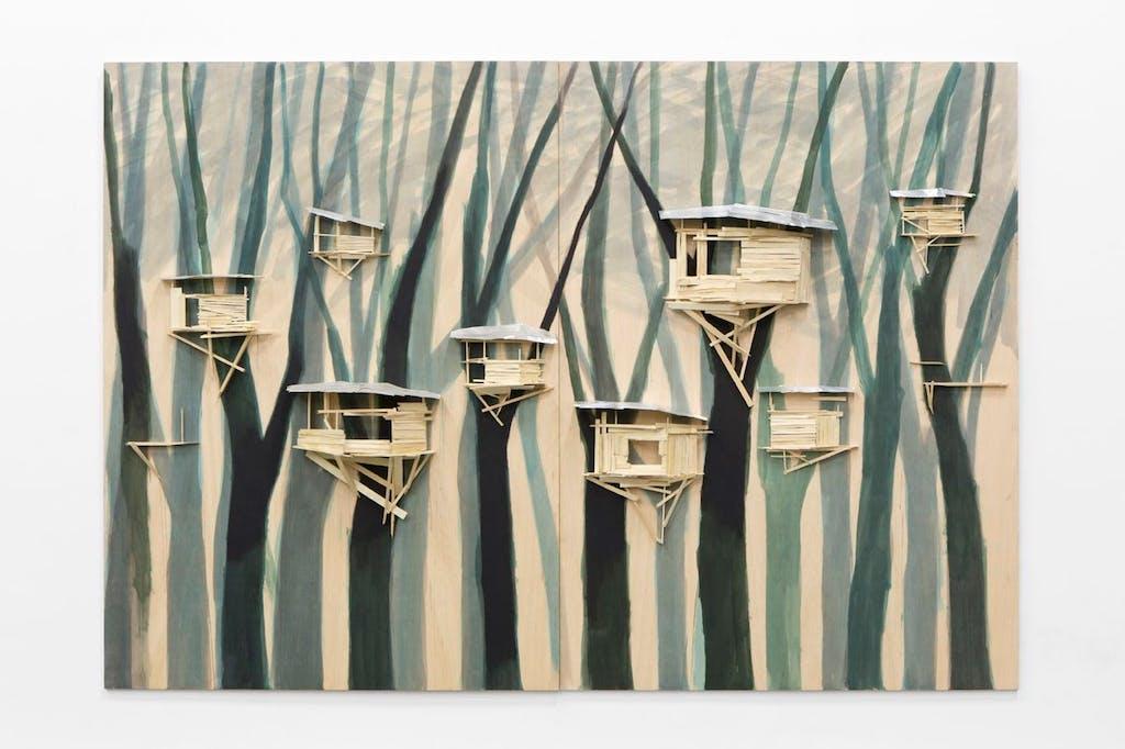 Tree hut sin Brugge. No 19 - © kamel mennour