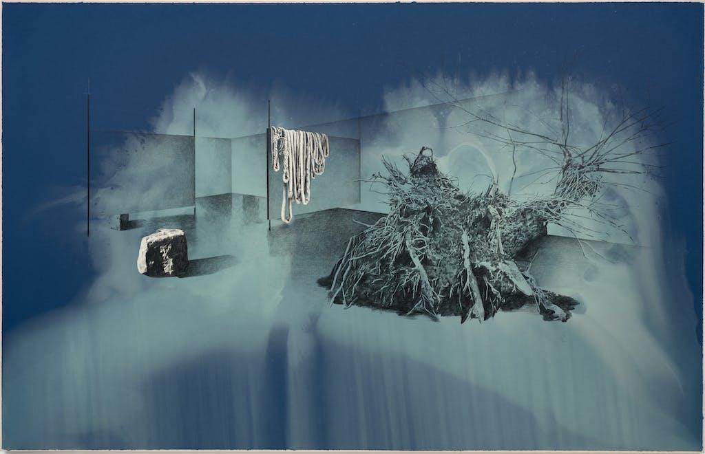 """Untitled from the series """"Les dessouvenus"""" - © kamel mennour"""