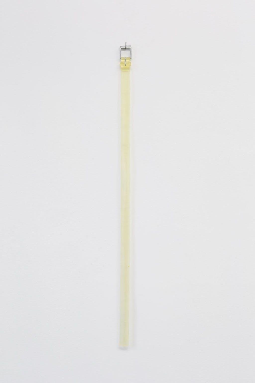 Belt hanging on the wall - © kamel mennour