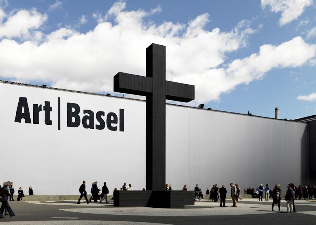 Exhibition view, Art Basel - © kamel mennour