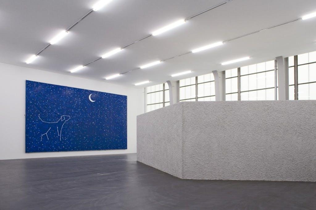 Exhibition view, Kunsthalle Zurich - © kamel mennour