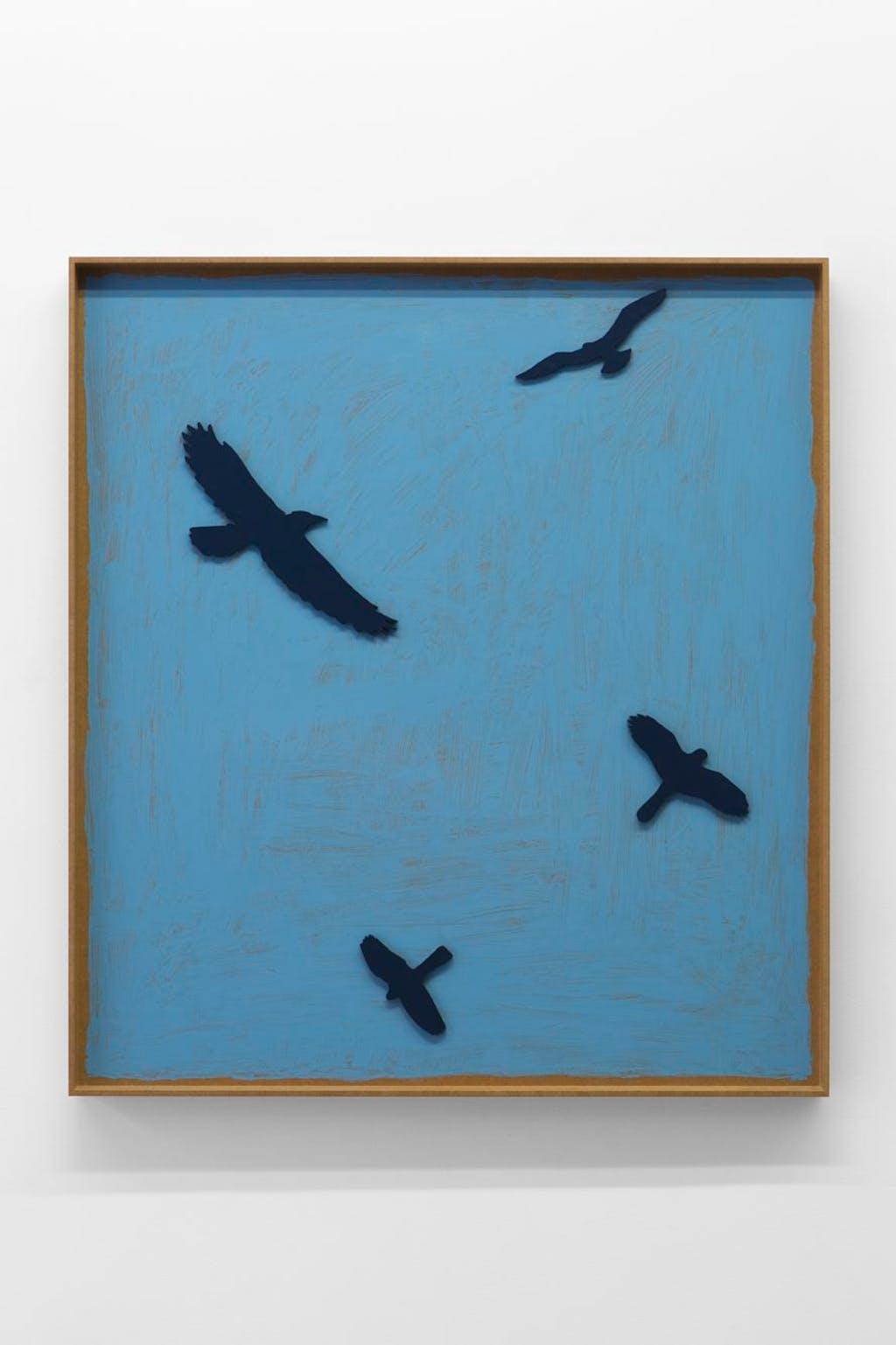 I quattro uccelli - © kamel mennour