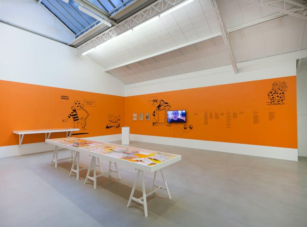 Exhibition view, kamel mennour, 2018 - © kamel mennour