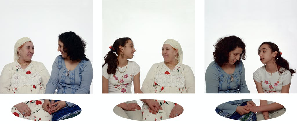 Mother, Daughter and I (triptych 1) - © kamel mennour