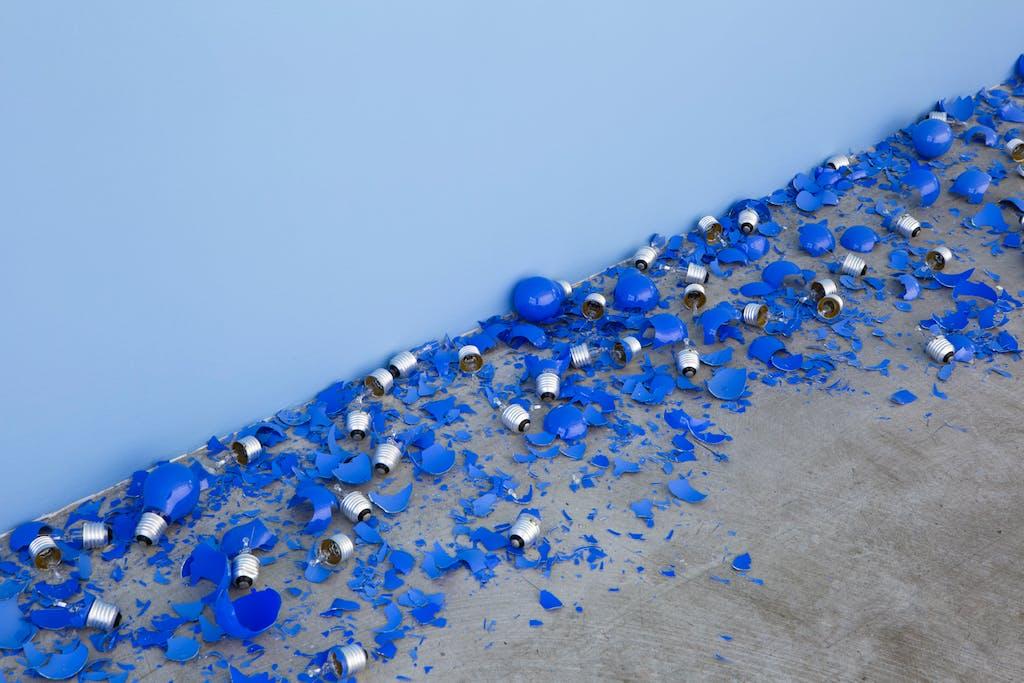 Aube bleue - © kamel mennour
