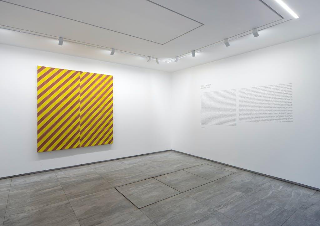 FIAC in the galleries - Frank Stella - © kamel mennour