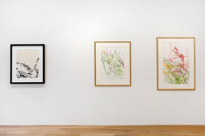 Zao Wou-Ki, Inks and watercolours (1948-2009) - © kamel mennour