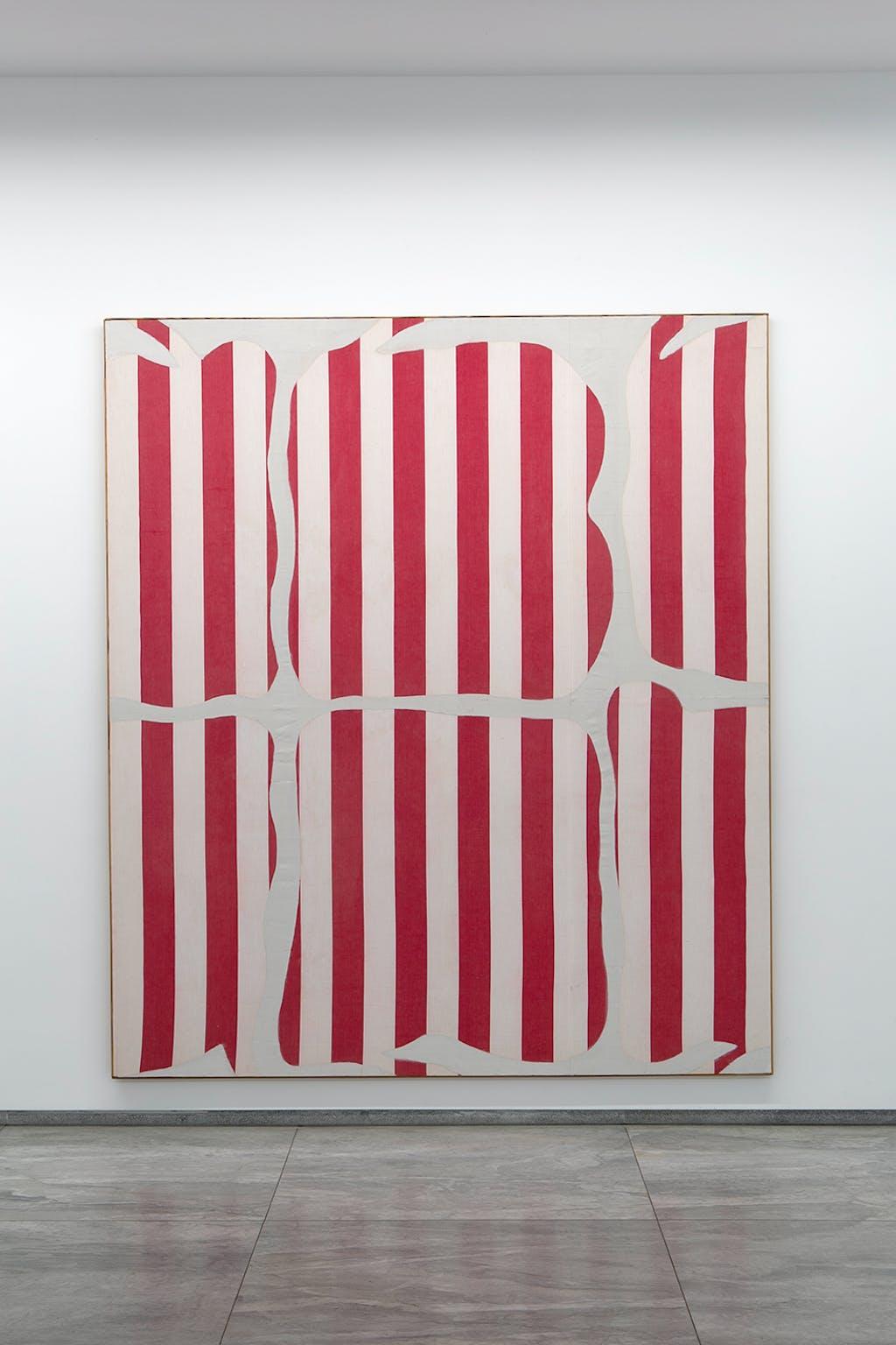 Peinture aux formes variables, 1966 - © kamel mennour