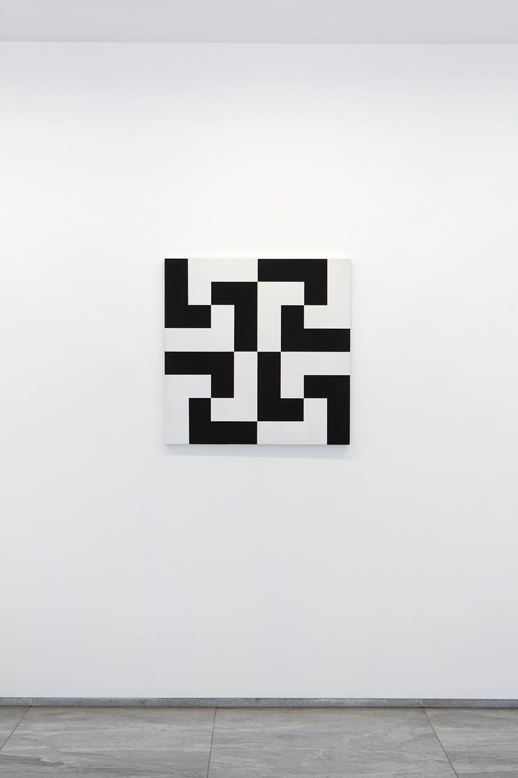 Répartition de 16 formes identiques - © kamel mennour
