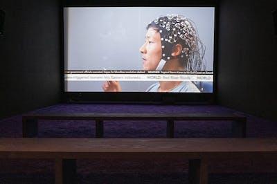 Camille Henrot - Belgrade Biennale - © kamel mennour