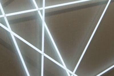 François Morellet - Center for International Light Art - © kamel mennour