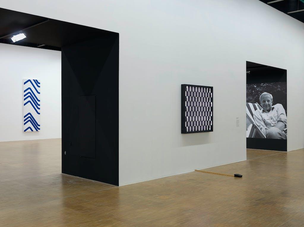 Dation François Morellet - Centre Pompidou - © kamel mennour