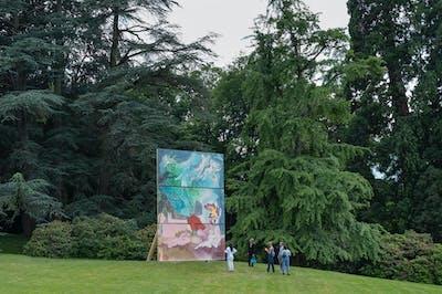 MLK - Sculpture Garden - © kamel mennour