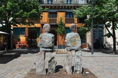 Ugo Rondinone - Parcours Saint-Germain - © kamel mennour