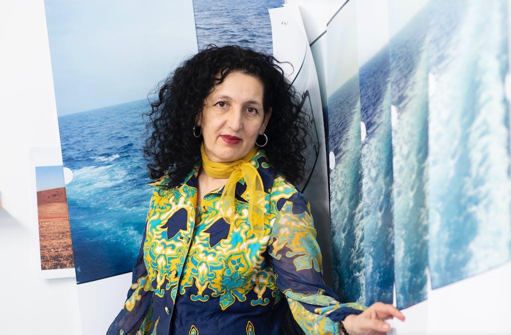 Zineb Sedira - Deutsche Börse Photography Foundation Prize 2021 - © kamel mennour